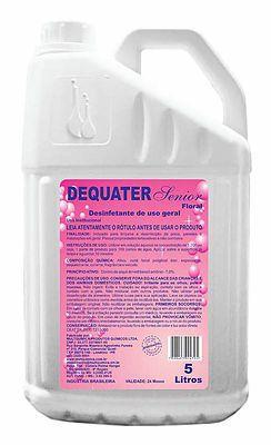 Desinfetante Dequater Senior Floral Multquimica - 5 litros