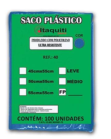 Saco de Lixo 40 Litros com 100 unidades - Itaquiti