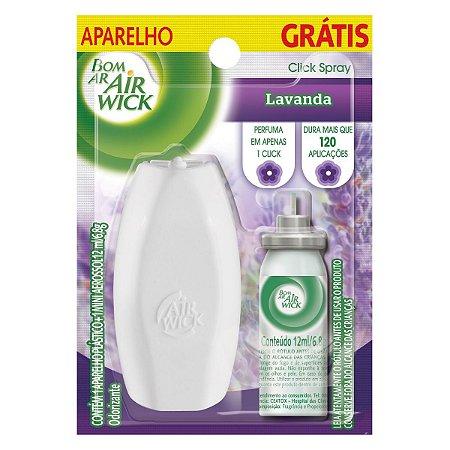 Desodorizador Bom Ar Fresh Matic com Aparelho + Refil - 12ml