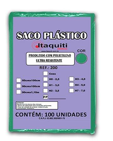 Saco de Lixo 200 Litros com 100 unidades - Itaquiti