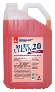 Detergente Neutro Concentrado Mult Clean 20 - 5 litros