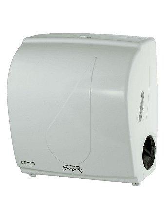 Dispenser Toalha Bobina Autocorte Branco - Fortcom