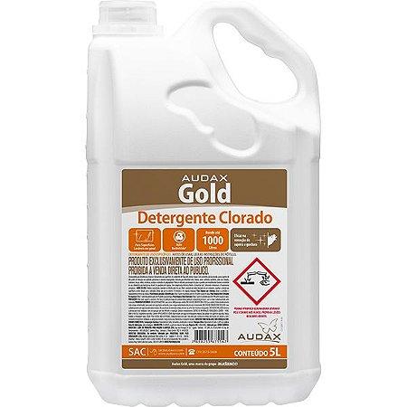 Detergente Clorado Concentrado Audax - 5 litros