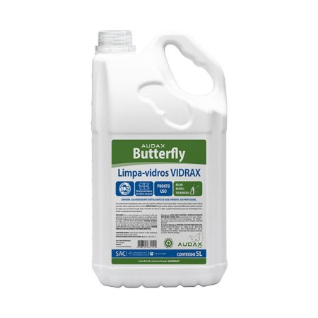 Limpa Vidros Butterfly Audax - 5 litros