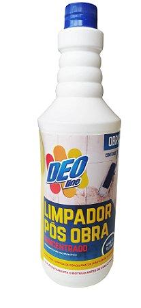 Limpador pós obra Concentrado 1 litro - Deoline
