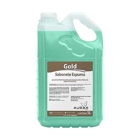 Sabonete espuma erva doce Audax Gold - 5 Litros