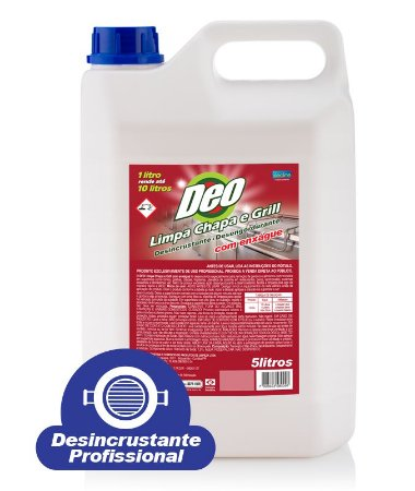 Desincrustante Deoline Limpa Chapa - 5 litros