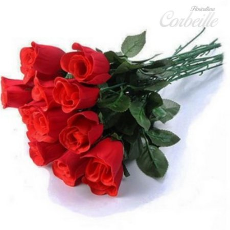 Ramalhete de 12 rosas