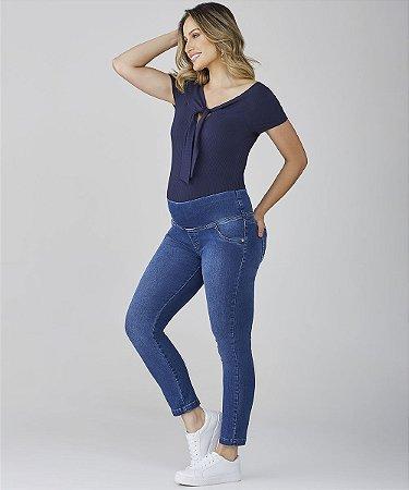 Calça Jeans Skinny Soft Elastic