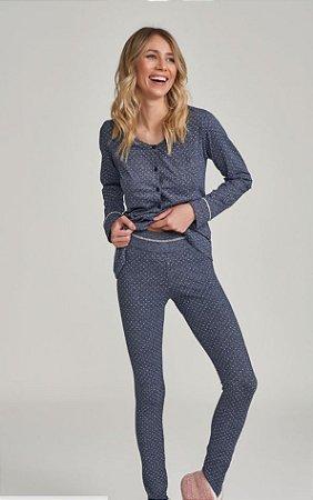 Pijama Manga Longa amamentação