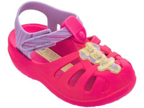 Sandália Babuche Aranha Baby Infantil Disney Minnie Grendene Kids