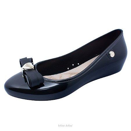Sapatilha Sapato Feminina Com Laço Miss Miss