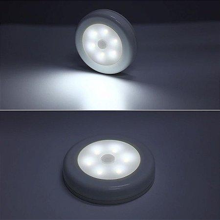 Spot portátil de luz LED com sensor de presença (fixa em qualquer lugar!)
