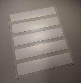 TAG RFID UHF 100 x 20 x 0,2 mm