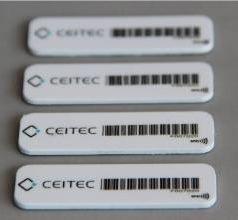 TAG RFID UHF 43 x 13 x 1,3 mm.