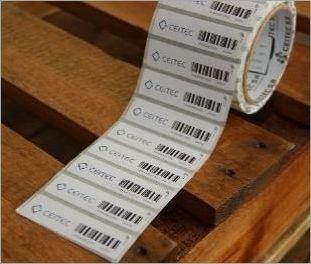 TAG RFID UHF 76 x 21 x 0,2mm