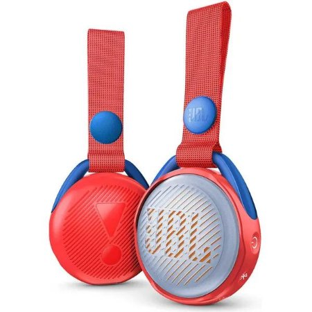 Caixa Bluetooth JBL JR POP IPX7 Vermelho