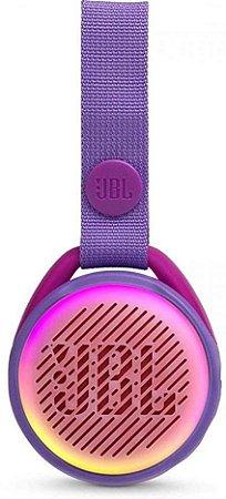 Caixa Bluetooth JBL JR POP IPX7 Lilas