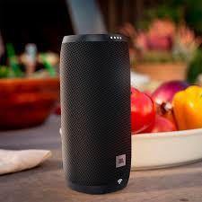 Caixa Amplificada Wi-Fi JBL LINK10 GOOGLE, Wi-Fi 2.4 GHz, Tempo Tocando 5 Horas, Comando de Voz.