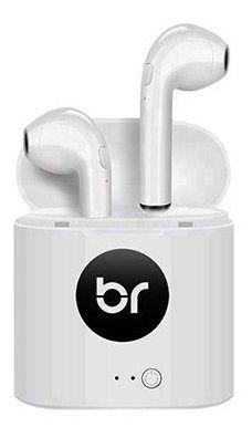 Fone de Ouvido Bright 0513 - Branco - Bluetooth