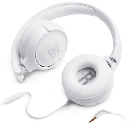 Headphone JBL Tune 500 branco
