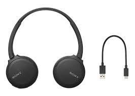Headphone Sony WH-CH510 Bluetooth Preto
