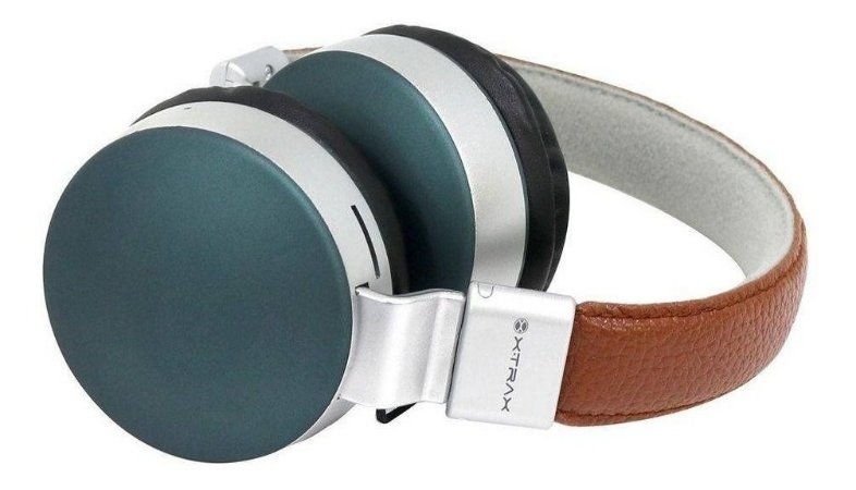 Headphone Xtrax Urban Bluetooth Marrom