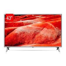 "TV LED 43"" LG 43UM7500 UHD 4K, Smart TV, WebOS 4.5, LG ThinQ AI, 4K HDR Ativo, Processador Quad Core."