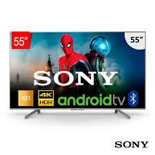 "TV LED Sony 55"" XBR-55X855G X1 PRO Smart UHD 4K, Pesquisa de Voz, Google Assistente, Chromecast."