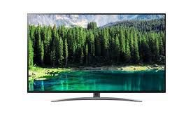 "TV LED 55"" LG 55SM8600 UHD 4K ThinQ AI, Smart TV, Tecnologia NanoCell, Nano Design, Processador Inteligente Alpha 7."