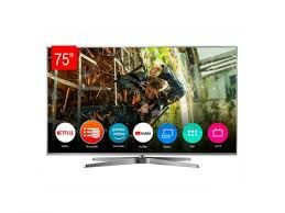 "TV LED Panasonic 75"" 75GX880B, Smart, 4K, Bluetooth Audio Link, Google Assistant, Wi-Fi, My Home Screen 4.0."