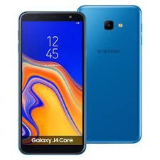 "Smartphone Samsung Galaxy J4 Core, 16GB, Dual Chip, 6"", Android 8.1, Câmera 8MP, Frontal 5MP Flash, 4G, Azul"