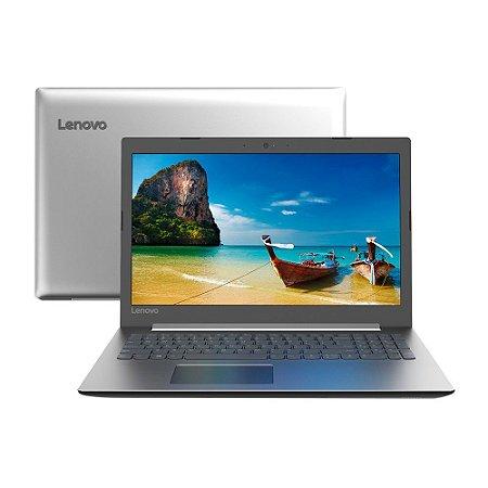 "Notebook Lenovo IdeaPad 330 i3-7020U 4GB 1TB Linux 15,6"" HD 81FDS00100 Prata"