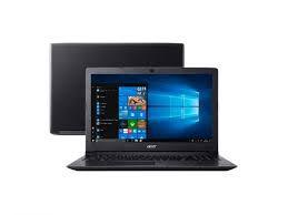 "Notebook Acer Aspire 3 A315-53-55DD Intel® Core i5-7200U 4GB RAM 1TB Tela de 15.6"" HD Windows 10"