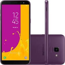 "Smartphone Samsung Galaxy J8, Android 8.0, 64GB, RAM 4GB, 6.0"", Câmera 16MP+5MP, Frontal de 16MP com Flash, Dual Chip, 4G, Roxo"