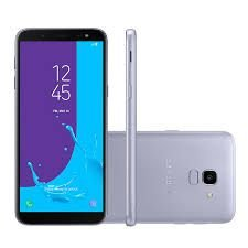 "Smartphone Samsung Galaxy J6, TV Digital HD, 32GB, RAM 2GB, 5.6"", Câmera 13MP, Câmera frontal de 8MP com Flash, Dual Chip, 4G, Prata"