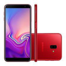 "Smartphone Samsung Galaxy J6+, Android 8.1, Tela 6"", Câmera 13MP, Frontal 5 MP, 32 GB, RAM 3 GB, Dual Chip, 4G, Vermelho"