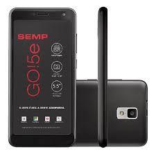 Smartphone SEMP GO5e, 4G, Com Impressão Digital, Processador Quad-Core 1.4Ghz, Tela 5.5? IPS HD Full Vision, Android 8.1 Oreo (Go edition)