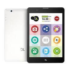 """Tablet DL TabFácil Tela 7.85"""" 3G Bluetooth 1GB/8GB - Branco (TX385BRA)"""