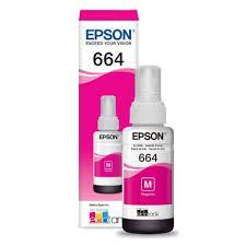 Refil Tinta Epson Magenta T664320 Al