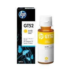 HP Garrafa de Tinta GT52 M0H56AL Amarelo