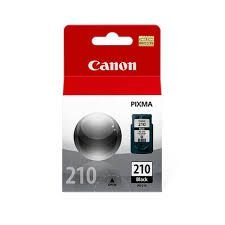 Cartucho de Tinta Canon Preto PG-210 Preto