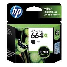 Cartucho Hp 664 Xl F6v31ab