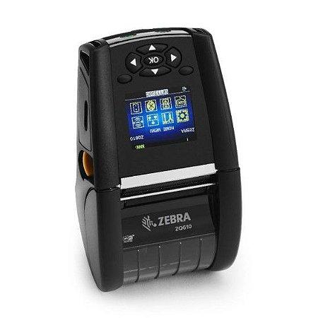 Impressora Portátil Zebra ZQ610