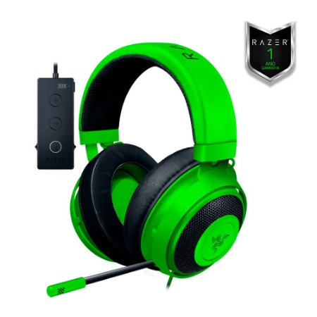 Headset Razer Kraken Tournament Verde