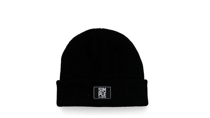 Gorro Touca Simple Basic Black D3