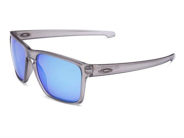 Oculos de Sol Oakley Sliver XL Matte Grey ink W Polarizado