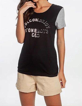 Camisa Feminina Volcom Easy Babe