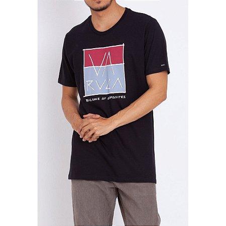 Camiseta RVCA Scum Preto Masculino