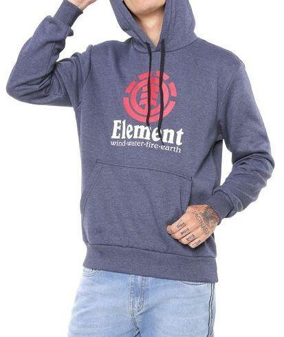 Moletom Element Flanelado Vertical